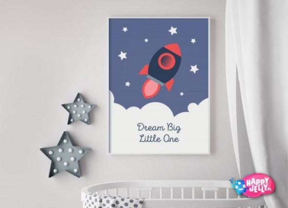 """Plakat """"Kosmiczne Marzenia"""""""