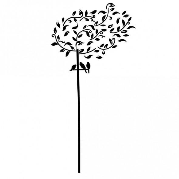 Naklejka na ścianę Drzewo WS-0024