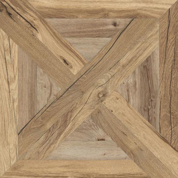 Gres dworcowy parkiet sęki złoty dab Flaviker Nordik Wood Beige Palace PF60005045 60x60