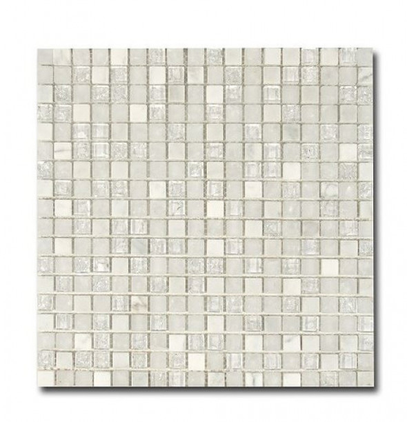 Mozaika El Casa Ice White 30,5x30,5 cm