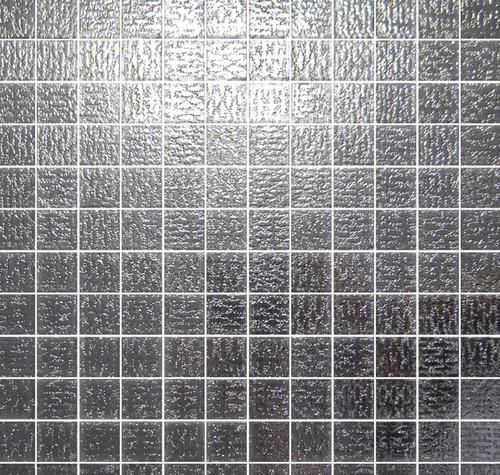 Mozaika srebrna lustro Absolut Keramika Groenladia Malla 2.4 Silver 30x30