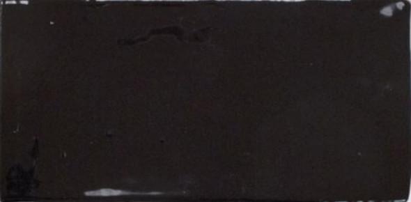 Płytki cegiełki czarnę Equipe Masia Negro Mate 7,5x15