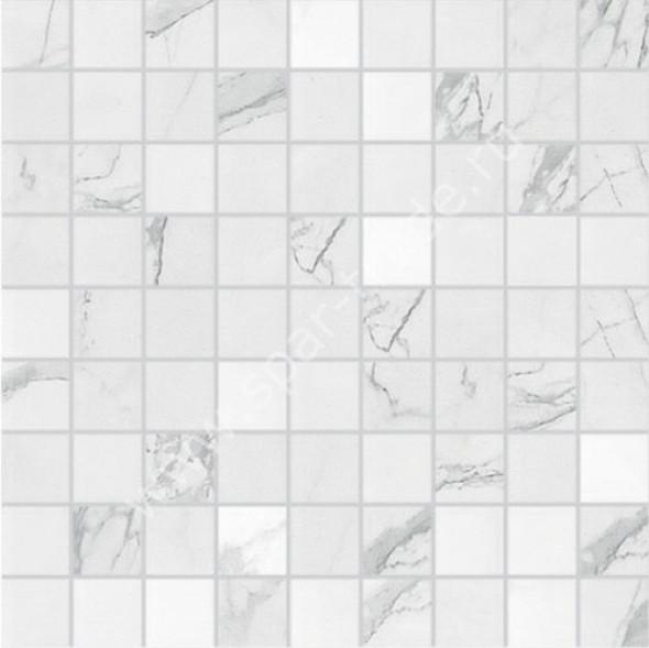 Płytki imitujące marmur Ragno mozaika SYMBOL VENATO GLOSSY 30x30 arc