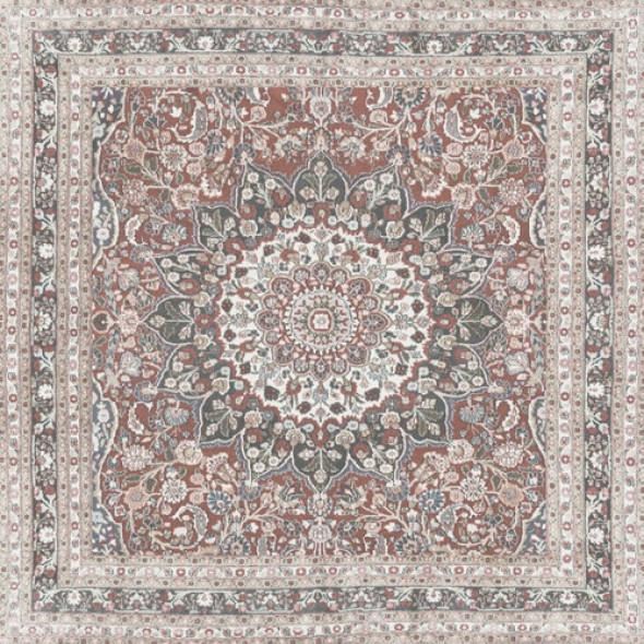 Płytki podłogowe dywan-wykladzina wzorzyste braz Aparici Kilim Nain Pulido 89.46x89.46