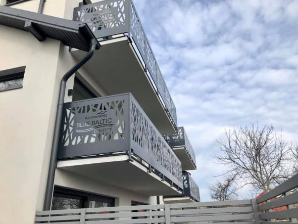 """Balustrada balkonowa """"Sieć"""" + personalizacja 3m"""