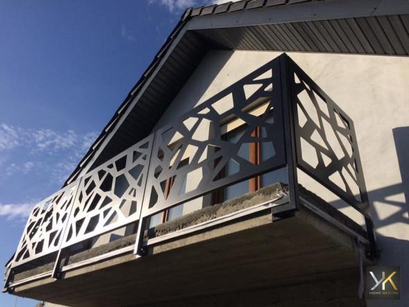 """Balustrada balkonowa """"Trapezy"""" 3m"""