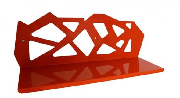 Półka metalowa trapezy