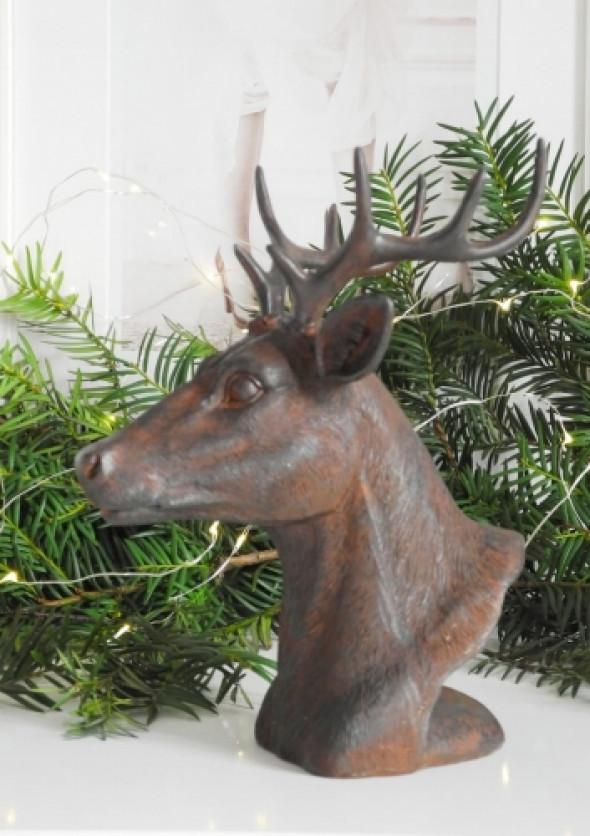Figurka dekoracyjna DEER BROWN