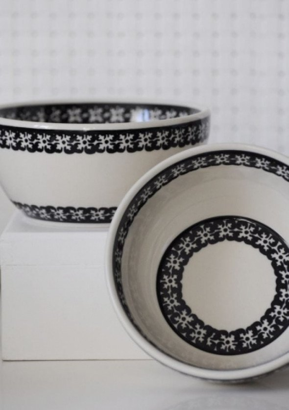 Miseczka 13 cm - ceramika Bolesławiec ( wzór1)