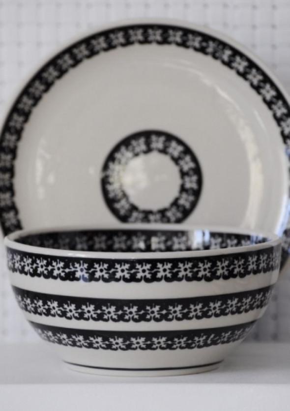 Miseczka 13 cm - ceramika z Bolesławca (wzór2)