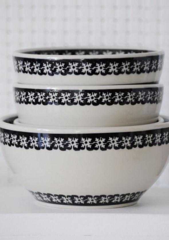 Miska 16 cm - ceramika z Bolesławca (wzór1)