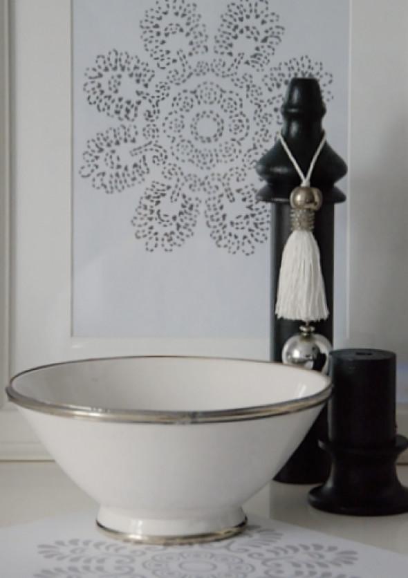 Miska ceramika marokańska Tine K Home - średnica około 20cm