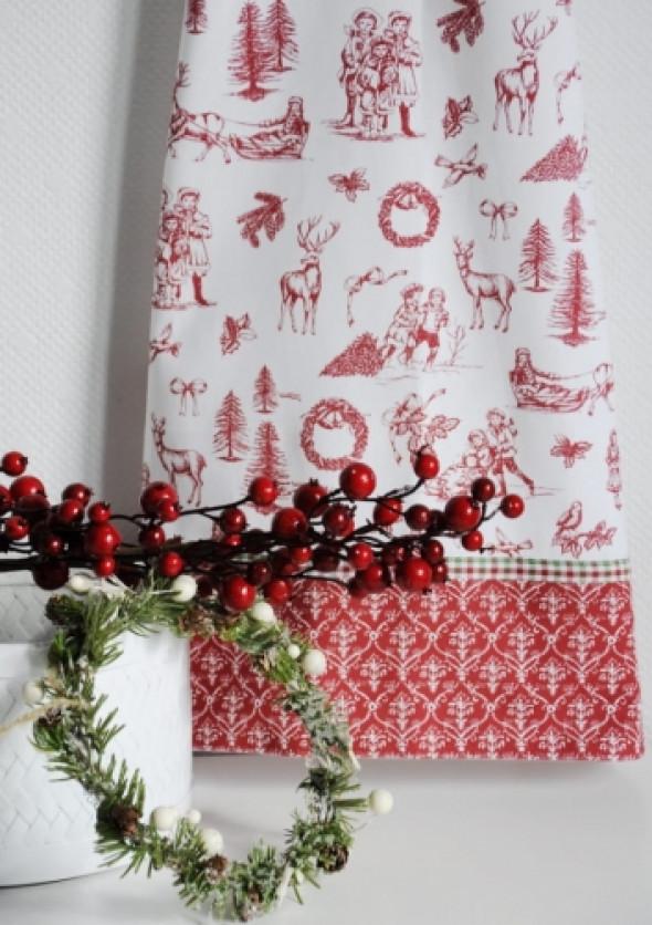 Ręcznik kuchenny z motywem świątecznym CHRISTMAS TIME