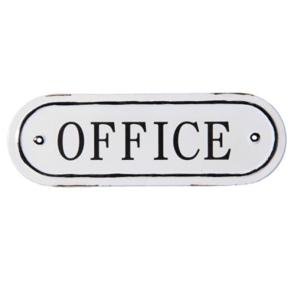 Tabliczka metalowa OFFICE