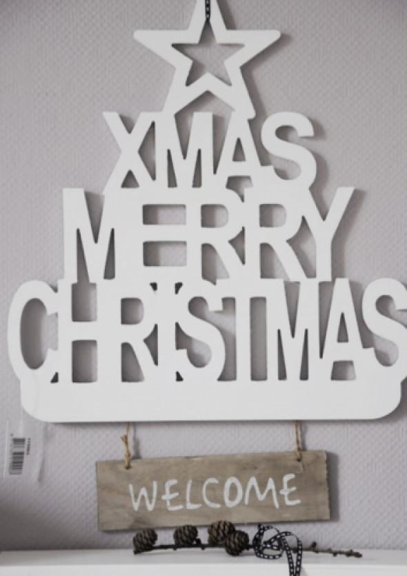 Zawieszka świąteczna na drzwi XMAS TREE