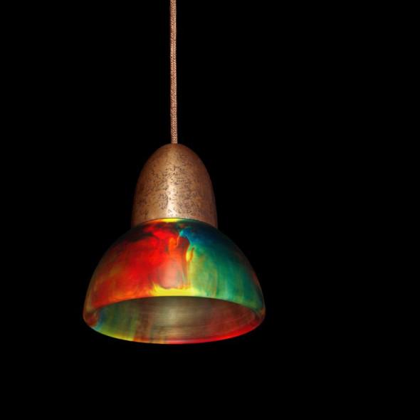 Lampa MinimaLed 0.3 StaraMiedz / MiskaKolor
