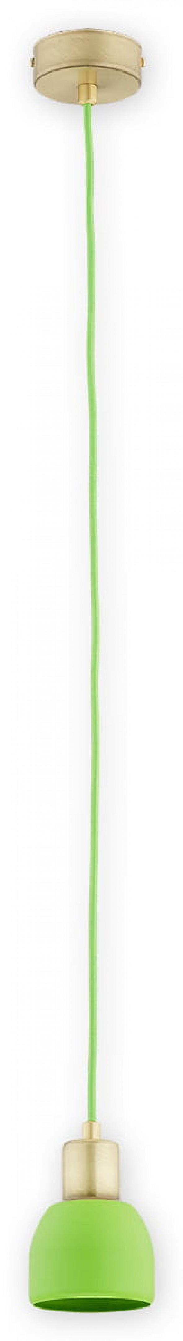 Piu zwis 1 pł. (na 1 przewód) / patyna + zielony
