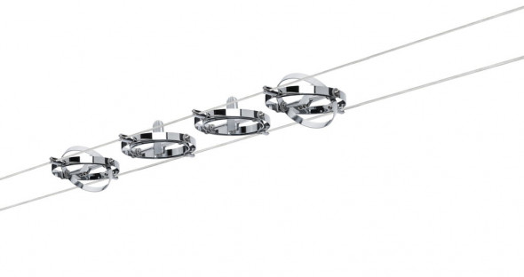System linkowy Cardan 4 x max.10W chrom-mat 12V
