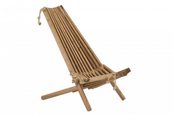 Fotel EcoChair Ecofurn Jesion Brązowy