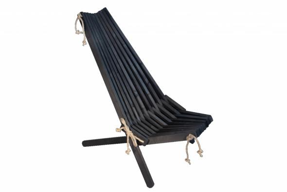 Fotel EcoChair Ecofurn Olcha Czarny