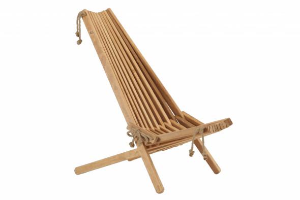 Fotel EcoChair Ecofurn Olcha Naturalny - teak