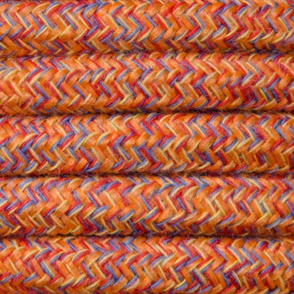Kabel w oplocie bawełnianym 2 x 0,75 - indiańskie lato