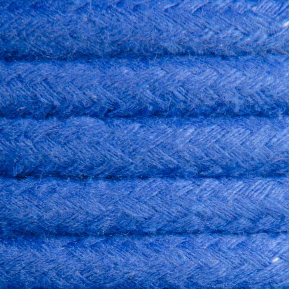 Kabel w oplocie bawełnianym 2 x 0,75 - niebieski