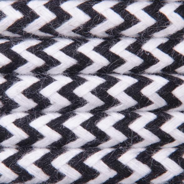 Kabel w oplocie bawełnianym 2 x 0,75 - pepitka
