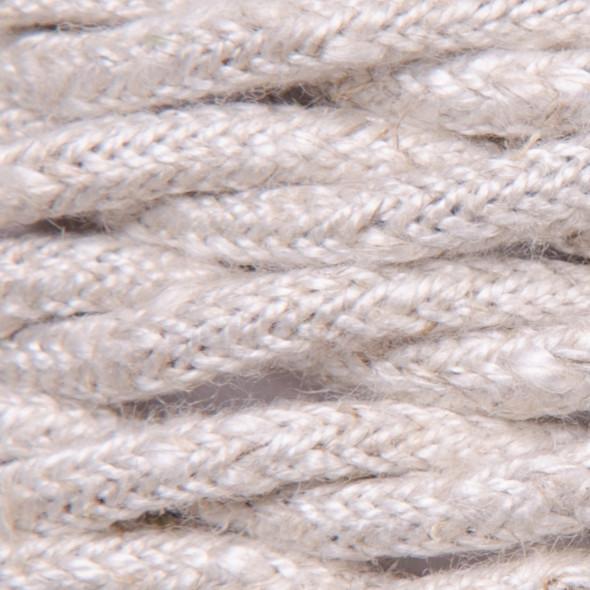 Kabel w oplocie lnianym 2 x 0,75 - skręcony - neutral