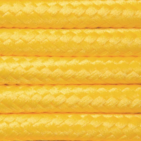 Kabel w oplocie poliestrowym 2 x 0,75 - kukurydza