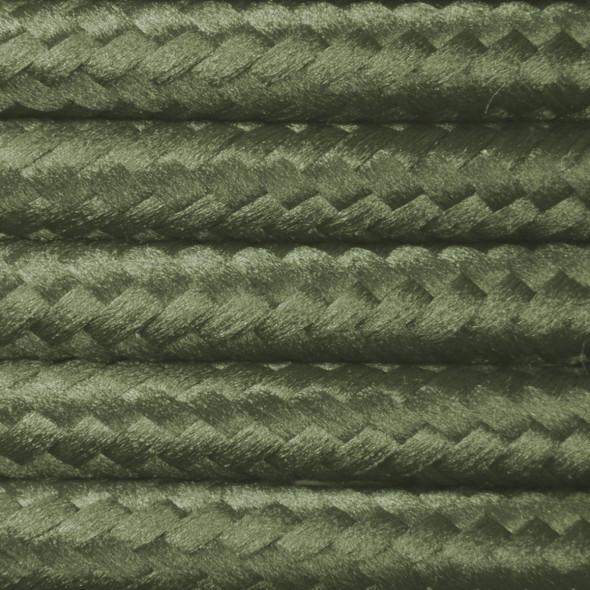 Kabel w oplocie poliestrowym 2 x 0,75 - zgniła zieleń