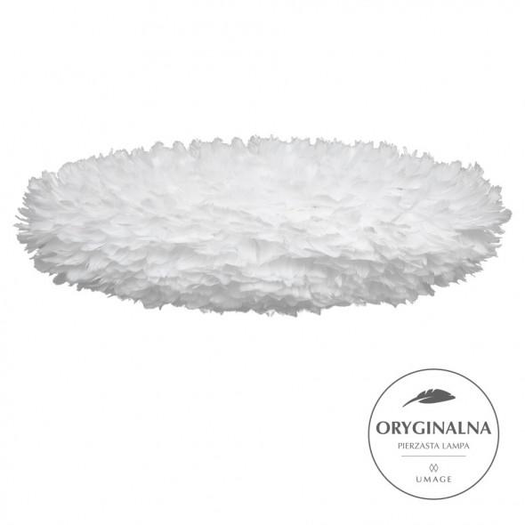 Lampa z piór Eos Esther Large UMAGE - biała, wymiar 75 x 49 cm /Kolor: Biały/