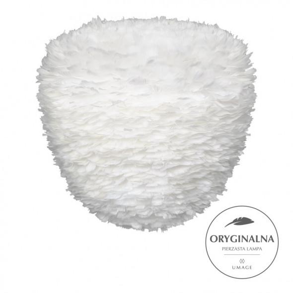 Lampa z piór Eos Evia Large UMAGE - biała, średnica 55 cm /Kolor: Biały/
