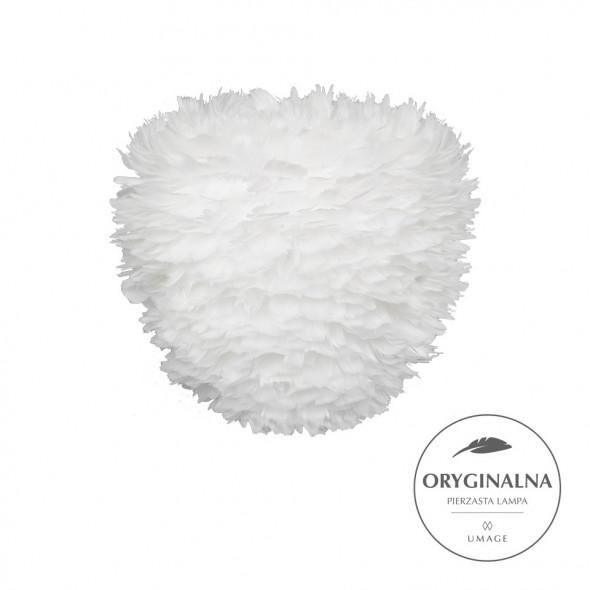Lampa z piór Eos Evia Medium UMAGE - biała, średnica 40 cm /Kolor: Biały/