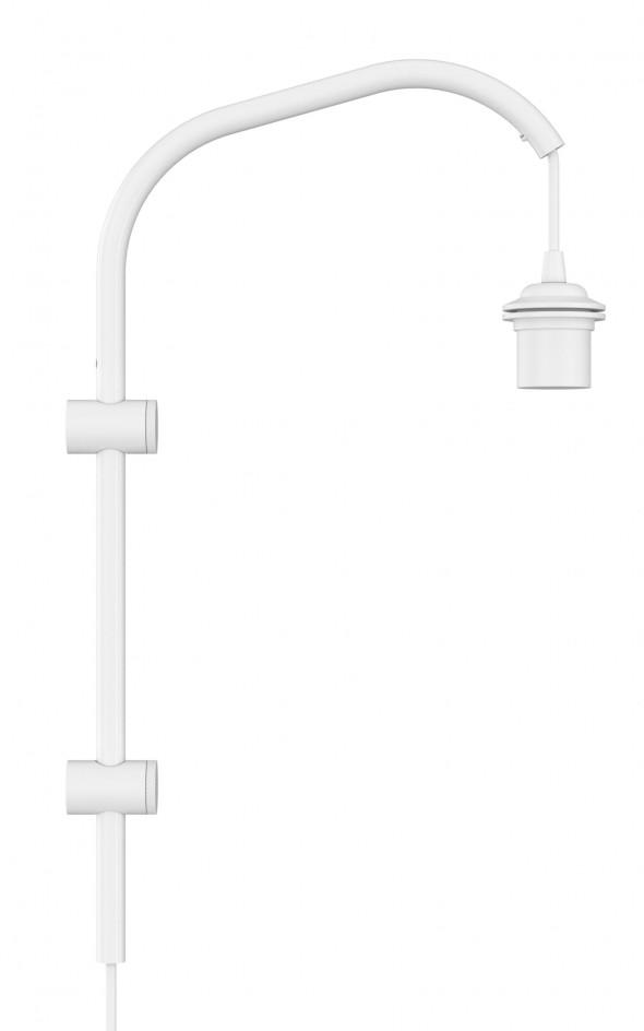 Ramię do lampy ściennej Willow mini UMAGE (dawniej VITA Copenhagen) - białe /Kolor: Biały/