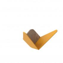Wieszak Butterflies mini UMAGE - żółty /Kolor: Żółty/