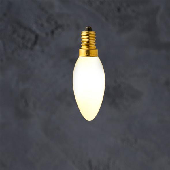 Żarówka dekoracyjna E14 C35 Porcelain LED 3.5W