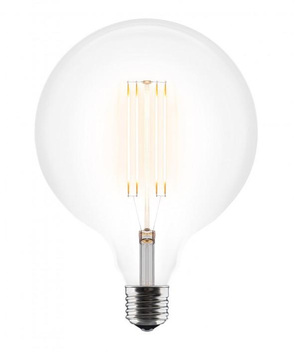 Żarówka dekoracyjna E27 3W Idea LED A+ średnica 125 mm UMAGE