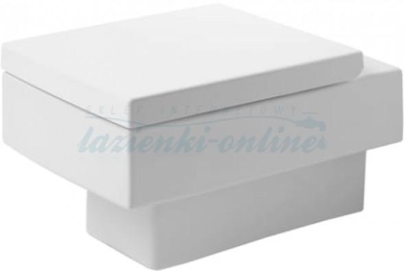 Duravit Vero miska wisząca 54,5x37cm WonderGliss, bez deski 22170900641