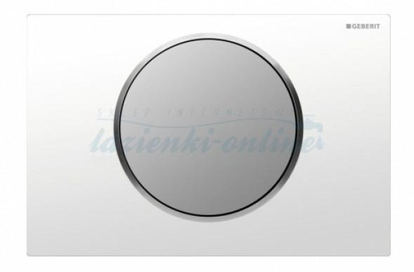 Geberit Sigma10 przycisk uruchamiający do spłuczek UP320 biały-chrom mat-chrom mat 115.758.KL.5