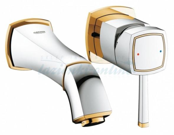 Grohe Grandera element zewnętrzny baterii umywalkowej podtynkowej, rozmiar S, chrom-złoty 19929IG0