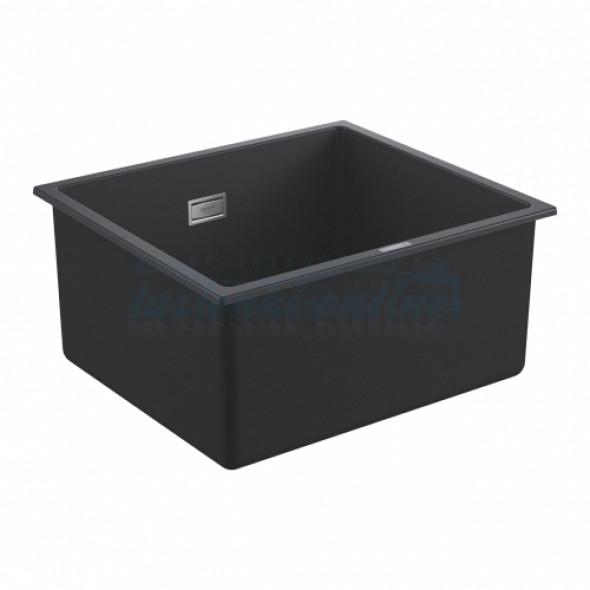 Grohe K700 zlewozmywak podblatowy/wpuszczany w blat 45,7x40,6cm, czarny granit 31653AP0