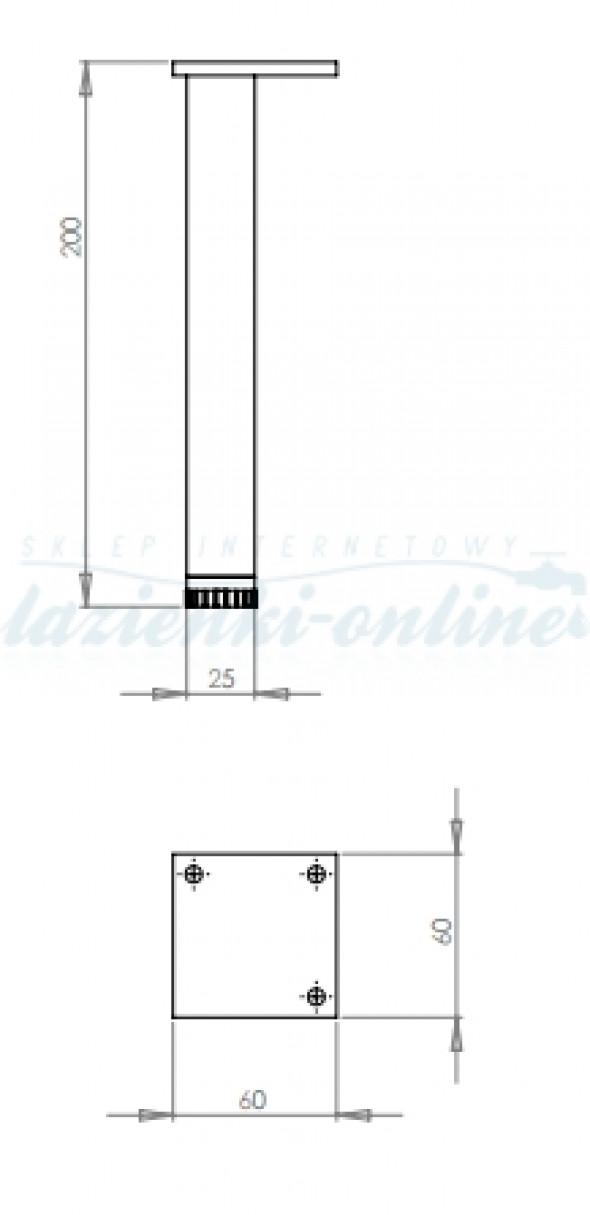 Koło Nova Pro nóżki meblowe 2 szt 99439