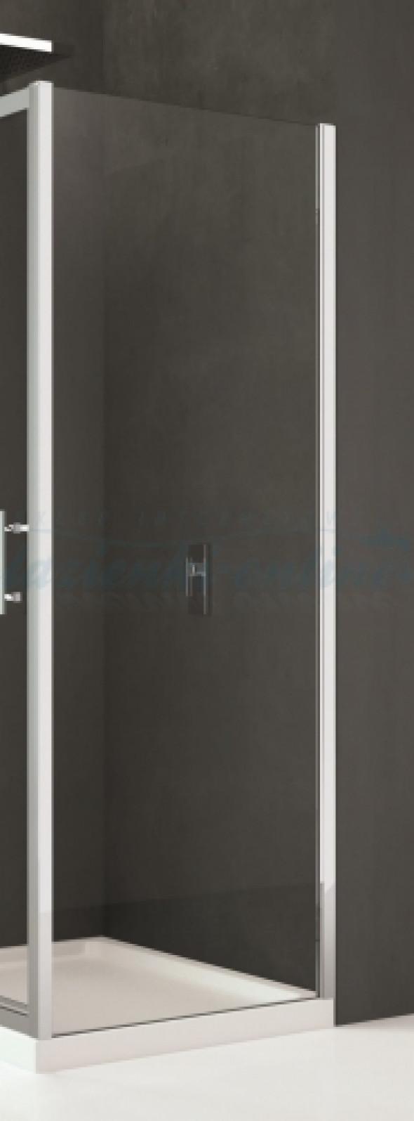 Novellini Kali F ścianka boczna 80cm KALIF78-1B