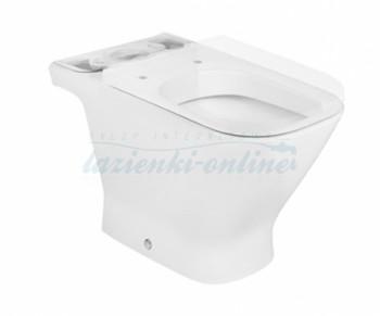 Roca Gap Square MaxiClean miska kompaktowa WC, bez deski A34247700M