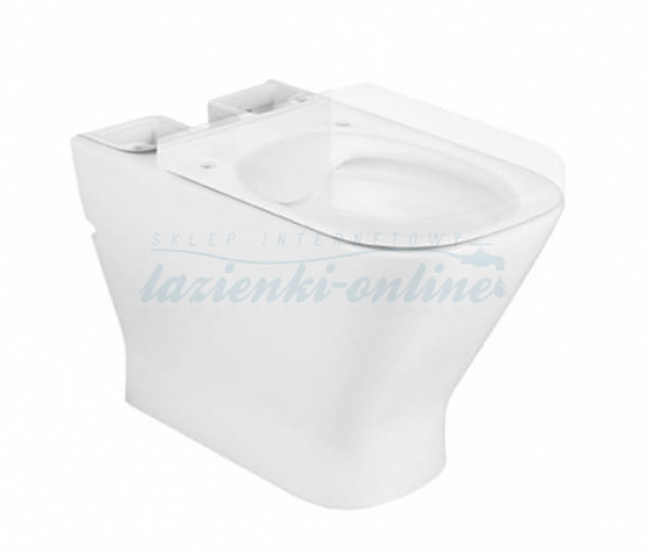 Roca Gap Square Rimless miska kompatowa WC bez deski A34273700H