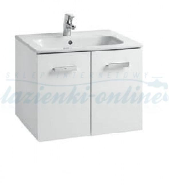 Roca Victoria Basic zestaw łazienkowy 60 cm, biały połysk A855883806