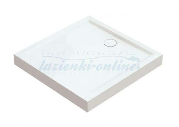 Sanplast Space Mineral obudowa brodzika typ L kwadratowego 80 cm OBL 80x80x9 625-400-1020-01-000