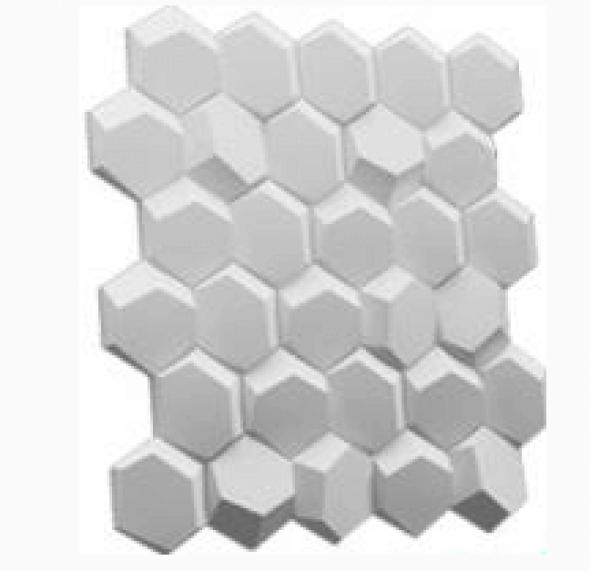 BRYLANT - Dekoracyjny Panel Ścienny 3D Z Gipsu Ceramicznego