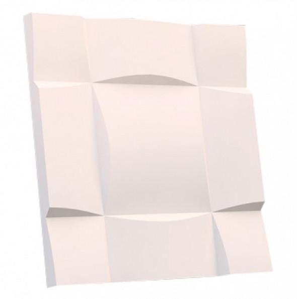 CZEKOLADA 2 - Dekoracyjny Panel Ścienny 3D Z Gipsu Ceramicznego